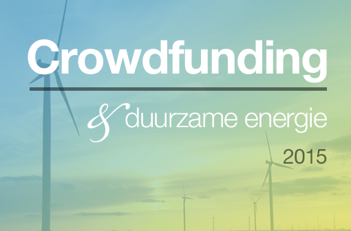 Crowdfunding & duurzame energie 2015