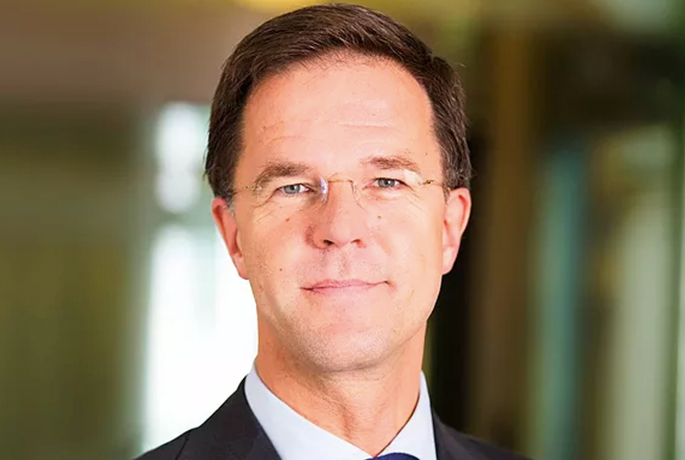 Minister-president Mark Rutte op Crowdfunding Day Europe